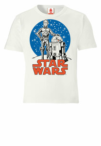 LOGOSHIRT - Star Wars - Droiden - R2-D2 & C-3PO - Kinder Bio T-Shirt  - LOGOSH!RT