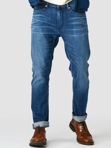 John Mid Blue - 5-Pocket-Jeans - Kings Of Indigo
