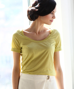 T-Shirt Short Sleeve lemon - Alma & Lovis