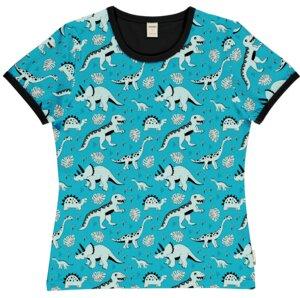 Meyadey Frauen Shirt SS Dino forest GOTS - Meyadey