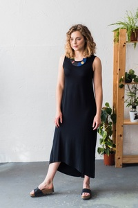 Kleid Mitsuke Black - KOKOworld