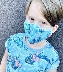 Paper Wings Kinder Maske (2-7 Jahre) - Doppelpack - PAPER WiNGS