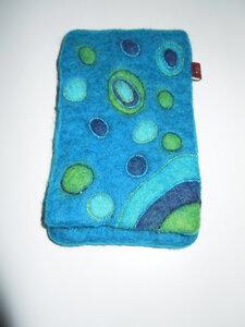 iPhone - Hülle handgefilzt aus 100% Schafswolle - short'n'pietz