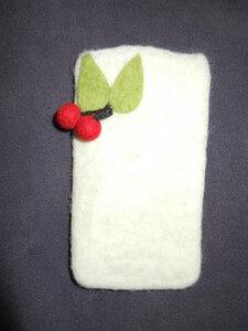 IPhone-Hülle Handgefilzte aus 100% Schafswolle - short'n'pietz