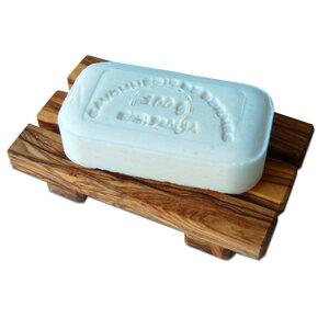 Seifenablage PALETTE aus Olivenholz - Olivenholz erleben