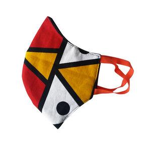Mund und Nasenmaske für Kinder +6 Jahre. Handmade in Kenya. V.4 - Kipepeo-Clothing