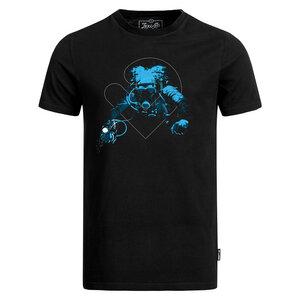 Tech Diver Herren T-Shirt schwarz - Lexi&Bö