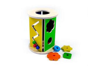 Hess Steckbox rund - HESS Holzspielzeug