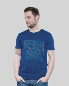 Shirt Men Majorelle Origami - SILBERFISCHER