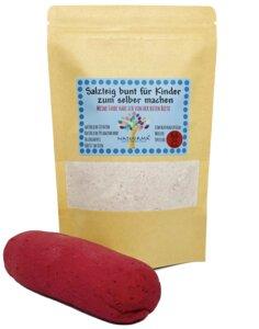 Kreativ Salzteig zum selber machen, Natuurma©, Ruth Rote Beete, rötlich - Natuurma©