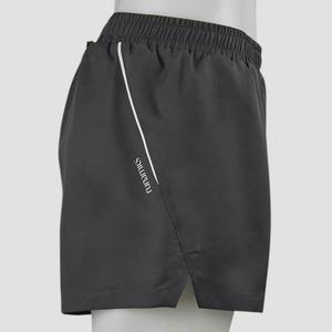 Running Shorts (Damen / Herren), plastikfrei, Lyocell, anthrazit - runamics