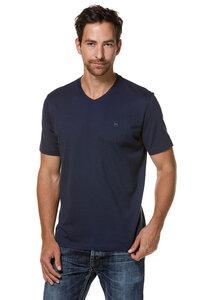 V-Neck Shirt aus edelster Pima-Baumwolle und ROYAL Alpaka - Apu Kuntur