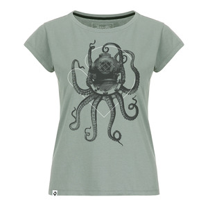 Nautical Octopus Damen T-Shirt  - Lexi&Bö