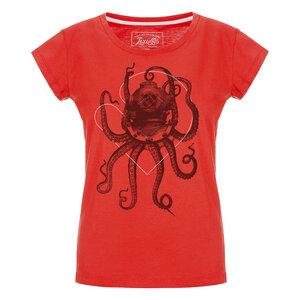 Nautical Octopus Damen T-Shirt  - Lexi&Bö