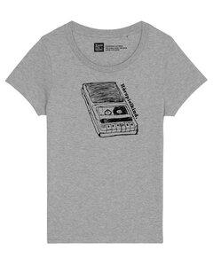 Fair gehandeltes Hörspielkind Women Shirt aus Biobaumwolle.  - ilovemixtapes