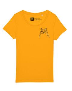 Fair gehandeltes kleine Eule Women Shirt aus Biobaumwolle.  - ilovemixtapes