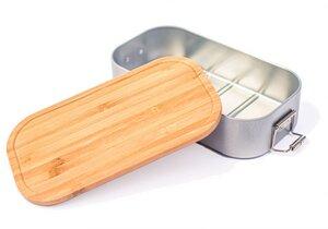 Brotdose mit Bambusdeckel - Cameleon Pack