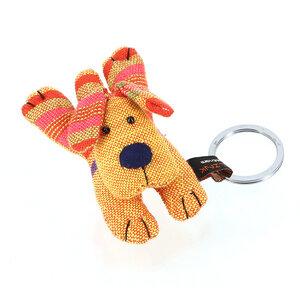 Schlüsselanhänger Hund orange - Mitienda Shop