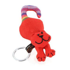 Schlüsselanhänger Katze rot - Mitienda Shop