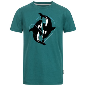 Dancing Orcas Jungen T-Shirt - Lexi&Bö