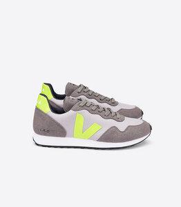 Herren Sneaker SDU Rec B-Mesh  (silver, jaune-fluo) - Veja