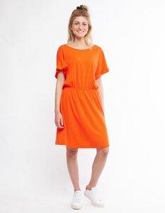 """Damen Kleid aus Eukalyptus Faser """"Rachele"""" orange - CORA happywear"""