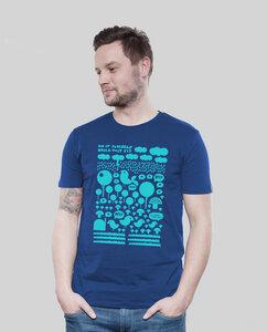 Shirt Men Majorelle Heile Welt - SILBERFISCHER