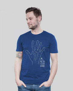 Shirt Men Majorelle Hands - SILBERFISCHER