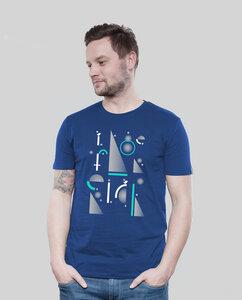 Shirt Men Majorelle Geometric - SILBERFISCHER