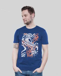 Shirt Men Majorelle Distorsion - SILBERFISCHER