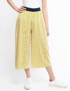 Febe Hose aus Eukalyptus | gelber Streifen - CORA happywear