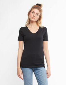 V-neck Eucalyptus T-Shirt - CORA happywear