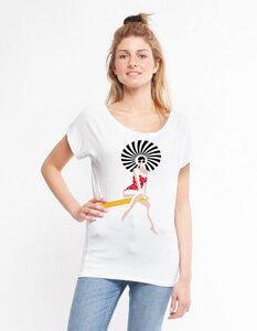 Eukalyptus T-Shirt Elisabeth   Schwimmerin - CORA happywear