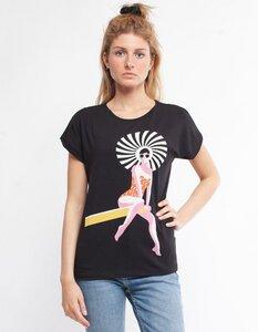 Eukalyptus T-Shirt Laura mit Schwimmerin - CORA happywear