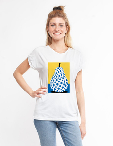 Eukalyptus T-Shirt Laura | Birne - CORA happywear