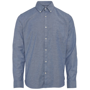 Oxford-Hemd - ELDER stretched - KnowledgeCotton Apparel