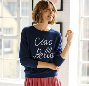 Pullover - Ciao Bella Jumper - Thought