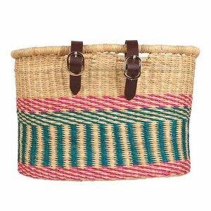 Fair Trade Fahrradkorb - Apana / Bolga / Ashanti / Buli - Handgewebt - The Basket Room - the basket room