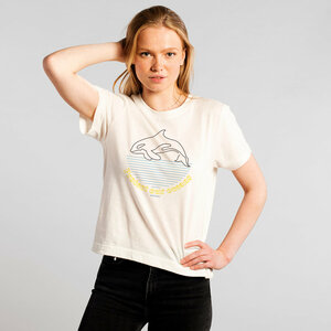 T-Shirt Mysen Protect Our Oceans (off-white) - DEDICATED