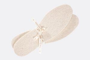 Schuheinlagen aus 100% Schafschurwollfilz - passend für jeden Schuh - Villgrater Natur
