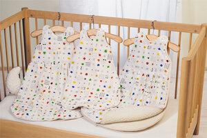 Schlafsack 70 cm Design Fantasia mit Veloursfutter 100 % kbA Baumwolle - Prolana