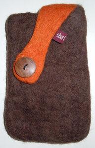 IPhone-Hülle aus Handgefilzter Schafswolle - short'n'pietz
