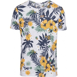 ALDER Flower Leinen T-Shirt GOTS - KnowledgeCotton Apparel