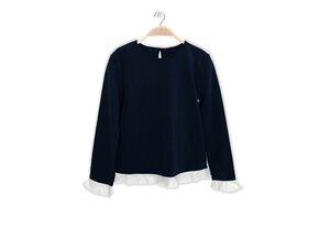 Shirt Candy aus Bambus + Leinen Shorts Cloud - Peter Jo Kids
