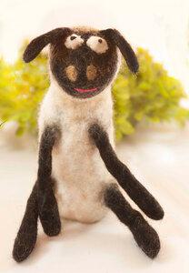 Schaf als handgefilzter Eierwärmer - short'n'pietz