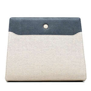 "Clutch Tasche ""La Paleur"" aus Canvas - UTMON ES POUR PARIS"