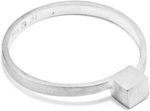 Ring CUBE, Silber 925, Sterlingsilber, Größe 50 - 56, Handmade in Germany, JRJ - Jonathan Radetz Jewellery