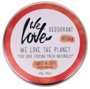 Natürliche vegane Deocreme Sweet & Soft - We love the planet