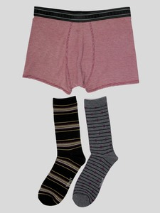 Geschenkbox Socken & Boxershorts - Garman Gift Box - Thought