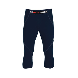 Rewoolution Herren 3/4 Leggings Trail - Rewoolution